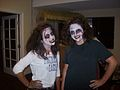 Karina Hamilton and Claudia Castro of SER-FL-279th Civil Air Patrol Squadron show their best zombie smiles.jpg