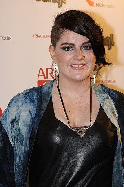 File:Karise Eden, ARIA No. 1 Chart Awards.jpg