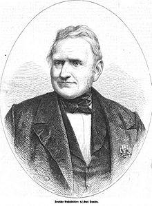 Carl Friedrich Wilhelm Duncker, 1867. (Quelle: Wikimedia)