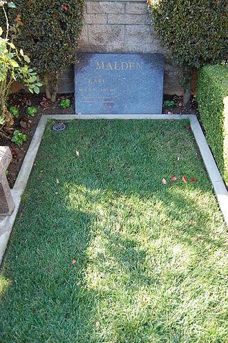 Karl Malden - Karl Malden's grave