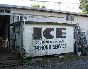 Karrick Building (Eau Gallie, Florida) - Image: Karrick Building (Eau Gallie, Florida) Ice Storage Freezer