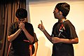 Katha Dichhi - Science Drama - Vivekananda Mission School - BITM - Kolkata 2015-07-22 0445.JPG