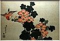 Katsushika Hokusai, ibisco e passero, 1833-34 ca.jpg