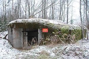 Karelian Fortified Region - Fortifications in Kalelovo