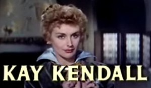 Kay Kendall - from the trailer for the epic historical film The Adventures of Quentin Durward (1955).