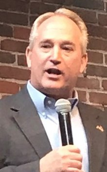 Keith Faber 2018 rally (cropped 2).jpg