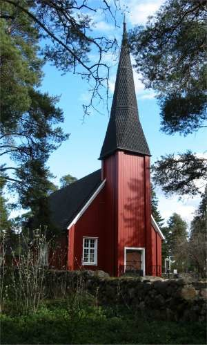 Kempele - The old wooden church of Kempele was built between 1688 and 1691.