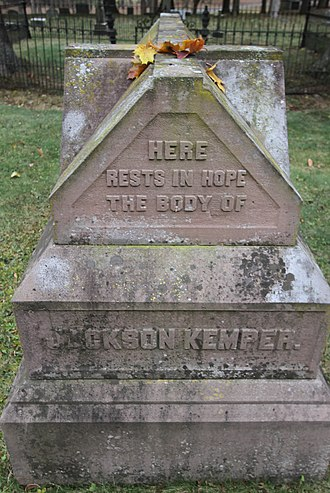 Jackson Kemper - Kemper's tomb at Nashotah House
