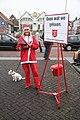 Kerstactie leger des heils in Spijkenisse.jpg
