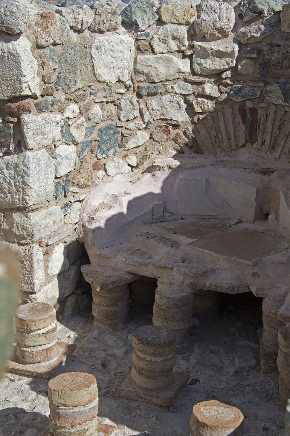 Kibyra Odeon Roman bath 9931