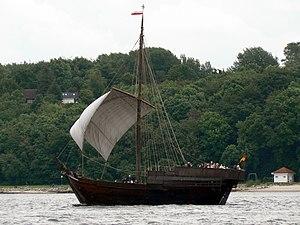 Medieval ships - A cog