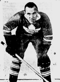 King Clancy, Hall of Fame inductee 1958.