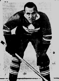 King Clancy Canadian ice hockey player