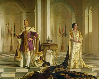 Coronation of George VI and Elizabeth Coronation of a British Monarch