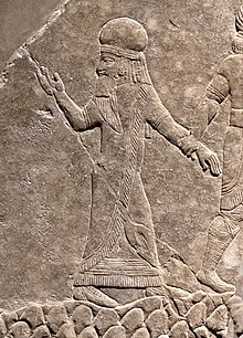 King Ummanaldash captured by the Assyrians.jpg