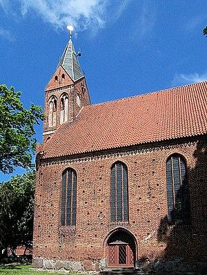 Barnim VI, Duke of Pomerania - Image: Kirche in Kenz