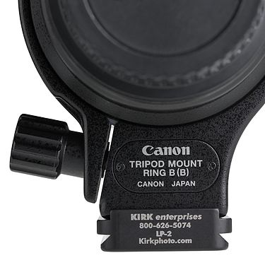 Kirk LP-2 on Canon Tripod Mount Ring B (B) front.jpg