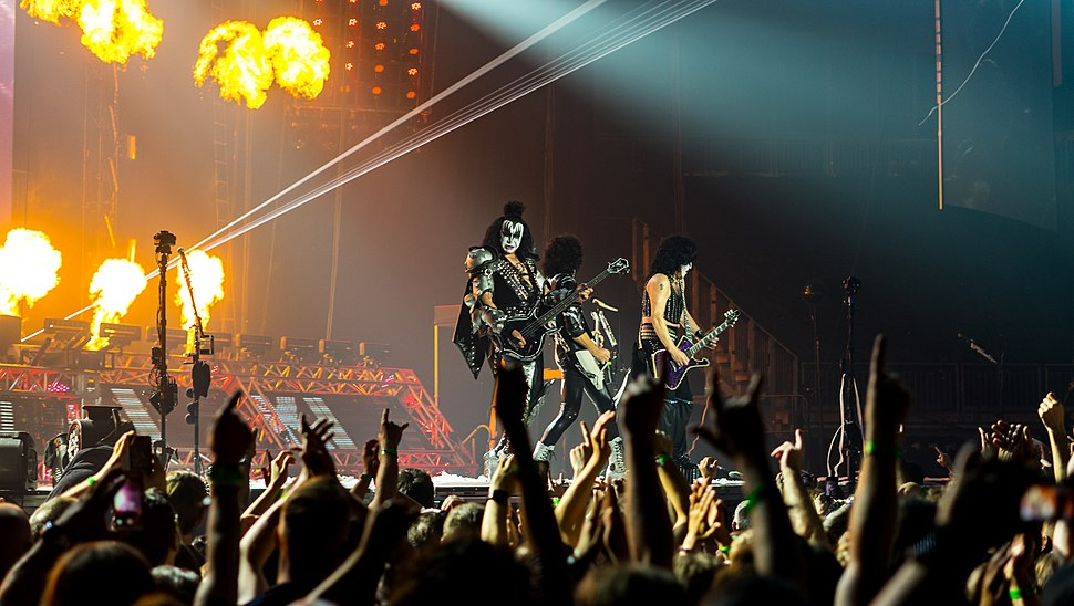 Kiss - The O2 - Wednesday 31st May 2017 KissO2310517-50 (35095769445)