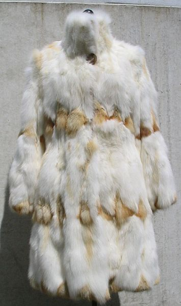 File:Kit-fox coat (Mongolian Kitfox bellies).jpg