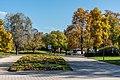 Klagenfurt Sankt Martin Gurlitsch Metnitzstrand Parkanlagen Blumenbeet 20102017 1716.jpg