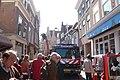 Kleine Houtstraat 33 - Fire brigade clean up after fire.JPG