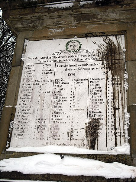 File:Kleve forstgarten obelisk winter 2.jpg