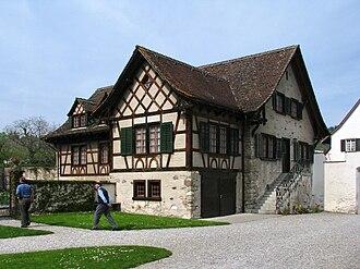 Fahr Monastery - the former chaplain's house built in 1703