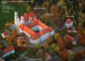 Kloster Irsee mit seinen Institutionen Schwäbisches Bildungszentrum Irsee, Bildungswerk Irsee und Schwabenakademie Irsee.png