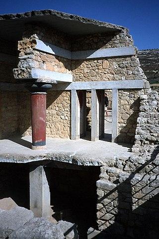 Knossos temple complex