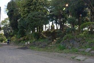 Koga Domain - Site of Koga Castle, administrative headquarters of Koga Domain
