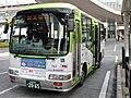 Kokusai Kogyo Bus 743 at Musashi-Urawa Station.jpg