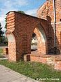 Kolbacz, klasztor cysterski - dom opata, detal architektoniczny - 003.jpg