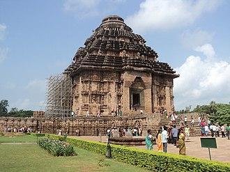 Eastern Ganga dynasty - Main Temple Structure, Konark Sun Temple