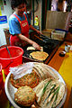 Korea-Jeongseon-Making Korean pancakes (jeon) at a market-02.jpg