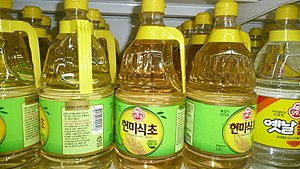 Rice vinegar - Hyeonmi-sikcho (brown rice vinegar)
