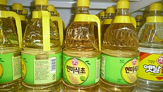 Rice vinegar - Hyeonmi-sikcho (brown rice vinegar)
