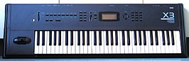 De Korg X3 Synthesizer/Workstation