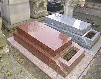 Joseph Kosma - Joseph Kosma's Tomb, Montmartre Cemetery, Paris