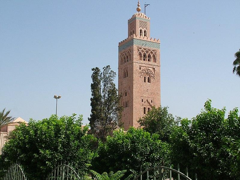 مرحبا وسهلا بيكم في مراكشالحمراء: 800px-Koutoubia_Mosque,Marrakech,Morocco.jpg