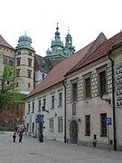 Kraków Kanonicza Dom Długosza Lisia Jama.JPG