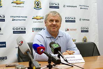 Barys Astana - Vladimir Krikunov coached Barys during the 2012–13 KHL season