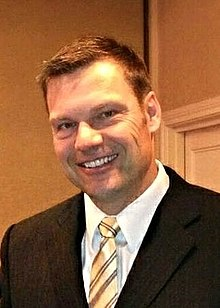 Kris Kobach Kansas, Secretary of State (13419571233) (cropped).jpg