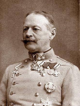 Alexander von Krobatin - Krobatin in 1914