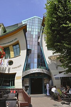 Krzywy Domek - Image: Krzywy Domek in Sopot