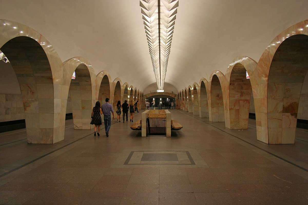 metro moscow kuznetsky mm google tour wikipedia underground through station