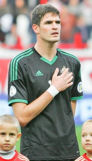 Kyle Lafferty - Lafferty playing for Northern Ireland in 2012