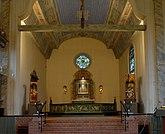 Fil:Kyrkan i Dalby, valvbåge.jpg