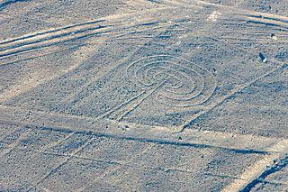 Nazca Mushroom geoglyph