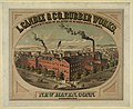 L. Candee & Co., Rubber Works, manufacturers of all kinds of rubber boots & shoes. New Haven, Conn. established 1842 LCCN2003677545.jpg