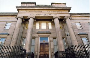 Neil Aspinall - The Liverpool Institute, which Aspinall, McCartney and Harrison attended.
